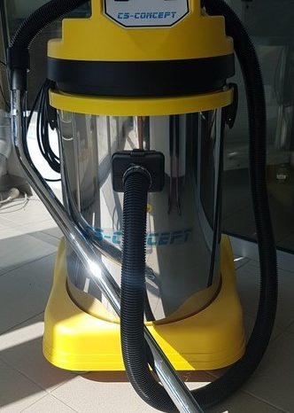 Aspirateur professionnel pour eau, farines et poussières complet